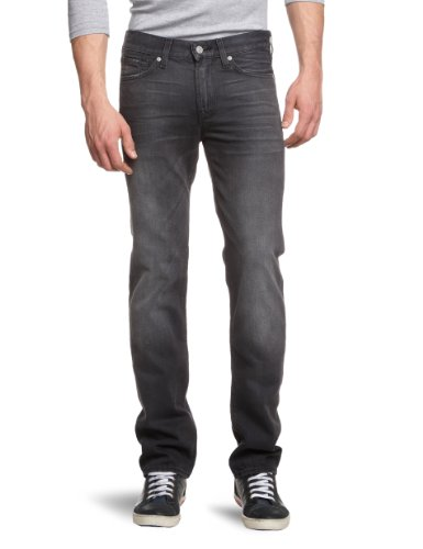 7 For All Mankind Men's SMS94A0KY Slim and Skinny Jeans Grey Grey Harbor 30/34