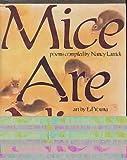 Mice are Nice (039921495X) by Larrick, Nancy
