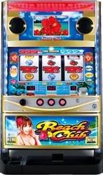 【ビスティ】ビーチクラブS 【中古パチスロ実機/フルセット】家庭用電源OK!