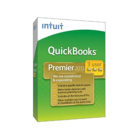 QuickBooks Premier Industry Editions 3-User 2013