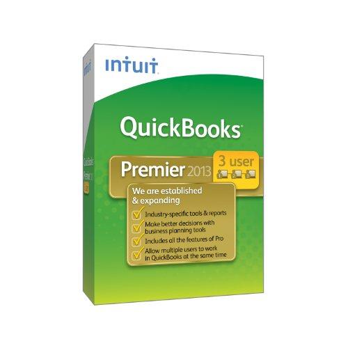 QuickBooks Premier Industry Editions 3-User 2013