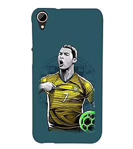 PRINTSHOPPII SPORTS FOOTBALL Back Case Cover for HTC Desire 828 Dual SIM