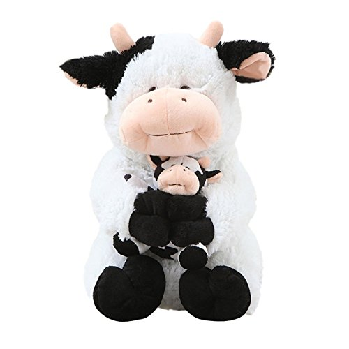 cuddly-plush-stuffed-animals-toy-mother-and-child-dairy-cow-doll-14-kids-plush-pillows-cushion-plush