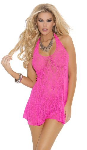 Women's Lace Babydoll Nightgown