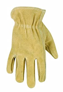 Custom Leathercraft 2091 Cowhide Gloves, Kids