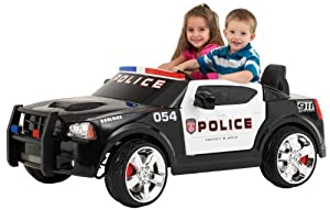 Pacific Cycle Dodge Police Car-12V
