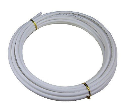 Malida Size 1/4 Inch, 10 Meters 30 feet Length Tubing Hose Pipe for RO Water Filter System white (Water Pipe System compare prices)