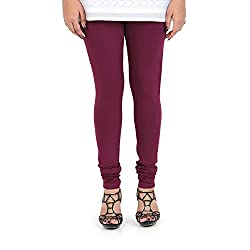 Vami Cotton Churidar Leggings in Voilet Color _VM1001(17)