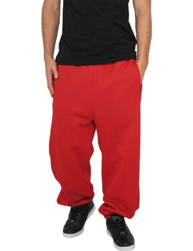 Urban Classics - Bekleidung Sweatpants, Pantaloni sportivi Uomo, Rosso (Red), Large (Taglia Produttore: Large)