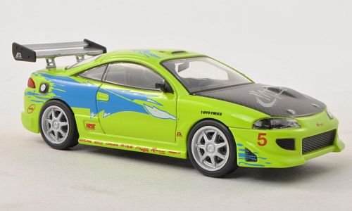 mitsubishi-eclipse-tuning-hell-grun-mit-dekor-fast-furious-1995-modellauto-fertigmodell-greenlight-1