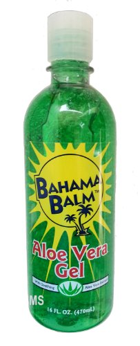 Bahama Balm 16oz Aloe Vera Gel After Sun Skin