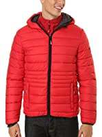 Geographical Norway Abrigo (Rojo)