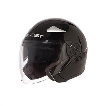 Boost b617 casque jet mixte-noir mat