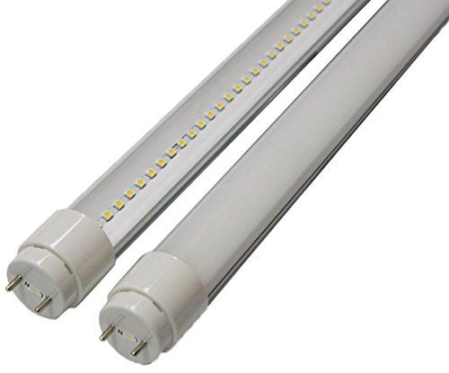 Goodlite G-20411  22-watt 4-Feet T8 T10 or T12 LED Tube 32W 40W Fluorescent Bulb Replacement, UL and DLC Approved Single End Power, Clear