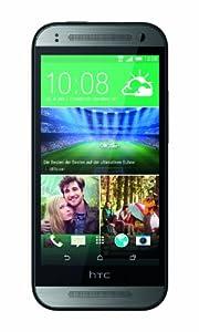 HTC One Mini2 Smartphone (11,4 cm (4,5 Zoll) Touchscreen, 1,2GHz, Quad-Core-Prozessor, 1GB RAM, 13 Megapixel Kamera, 16GB interner Speicher, Nano-SIM, Android 4.4.2 KitKat) grau
