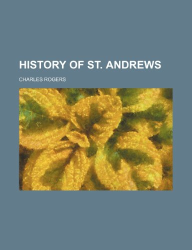 History of St. Andrews
