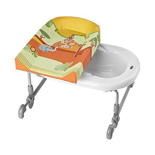 """'Brevi 594557Ombi Fasciatoio da bagno bagno time-Design """"Safari Kids, Multicolore"""