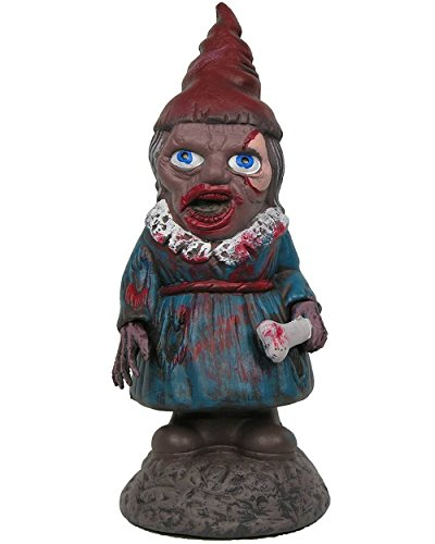 Zombie Garden Gnome Girl