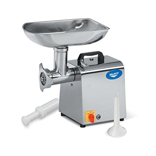 Vollrath 40743 Stainless Steel Electric Meat Grinder, No. 12