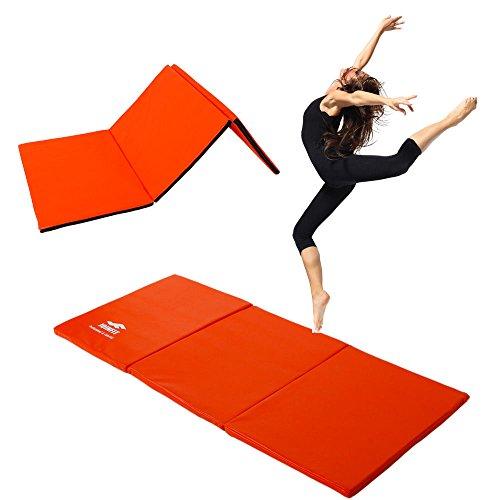 Thick Folding Panel Gymnastics Mat Gym Fitness Exercise Stretching Yoga Tumbling