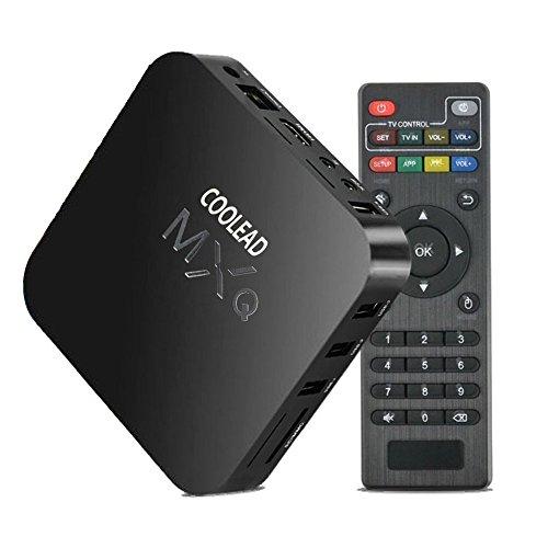 COOLEAD Quad Core MXQ Smart TV BOX Mini PC Streaming Media Player