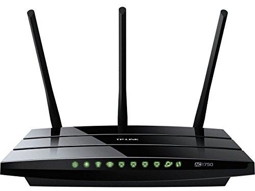 TP-LINK Archer C7 - Router AC1750 Mbps Banda Dual WiFi Gigabit (WPS,...
