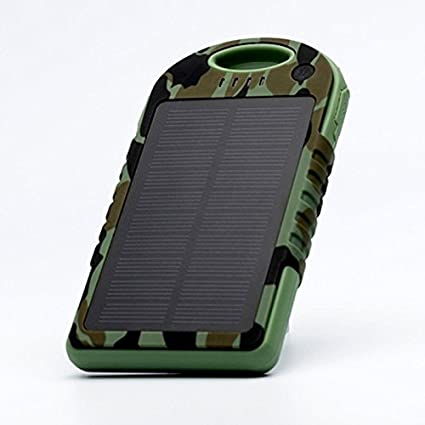 Big Digital 10000mAh Solar Panel Dual Port Power Bank