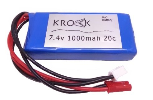KROCK 74v 1000mah 20c Battery for WL Toys V262 RC Quadcopter