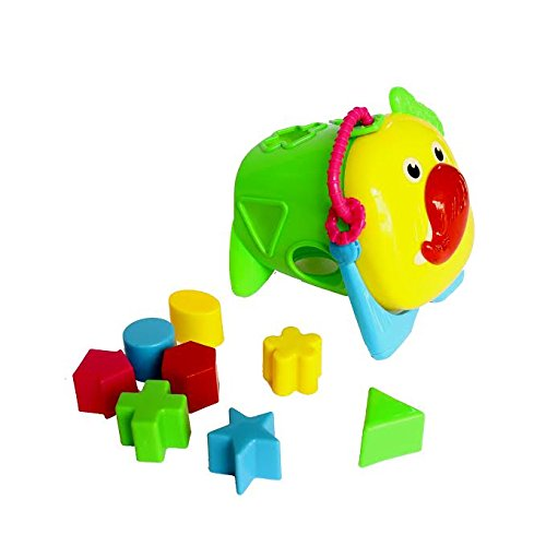 Dazzling Toys Baby Shapes Blocks with Animal Face Cover - Kid's Early Identification and Matching Skills