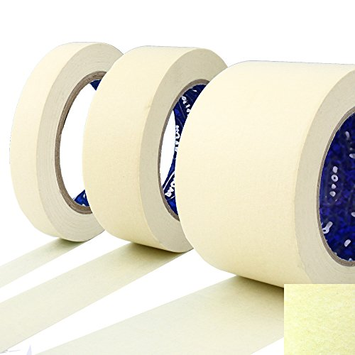 kreppband malerkrepp abklebeband wei 75mm x 50m zum perfekten streichen saubere. Black Bedroom Furniture Sets. Home Design Ideas