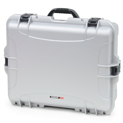 Nanuk 945 Case with Padded Divider (Silver)