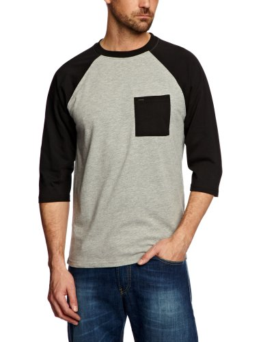 Animal Unjust Men's Sweatshirt Grey Marl Small - CL3SC044-103-S