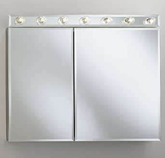 Robern CDL35TW White CD Medicine Cabinet Lighting CDL35TW Home I