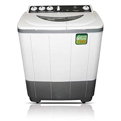 Sansui SSF72R Semi-automatic Top-loading Washing Machine (7.2 Kg, Grey)