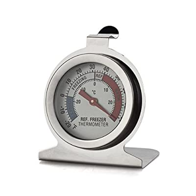 Stainless Steel Dail Thermometer for Refrigerator Fridge Freezer