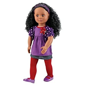 "Our Generation Abrianna 18"" Non Poseable Doll"