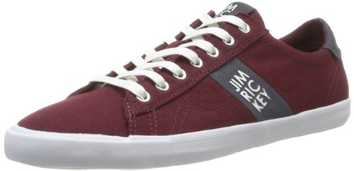 Jim Rickey Mens Deuce Lo Canvas Trainers