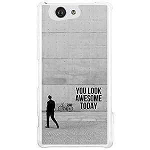 a AND b Designer Printed Mobile Back Cover / Back Case For Sony Xperia Z4 Mini (SON_Z4_MINI_1597)
