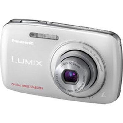 Panasonic Lumix DMC-S3 14.1 MP Digital Camera with 4x Optical Image Stabilized Zoom with 2.7-Inch LCD (White)