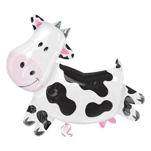 Cow Super Shape Mylar Balloon - 1