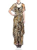 BDBA Vestido Seda (Caqui)