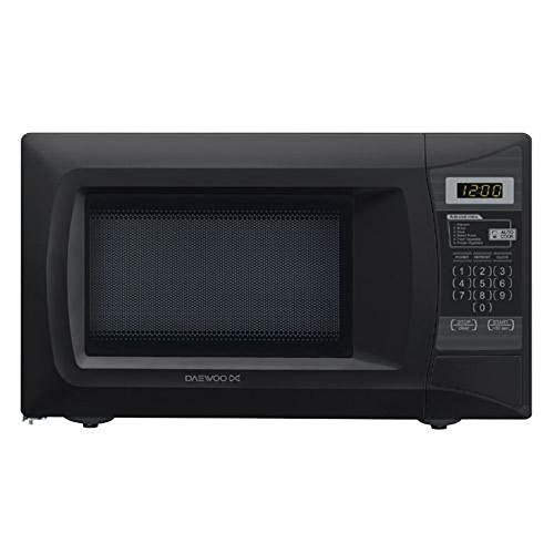 Best Prices! Daewoo KOR7L0EB 0.7 Cu. Ft. 700 Watt Compact Countertop Microwave - Black