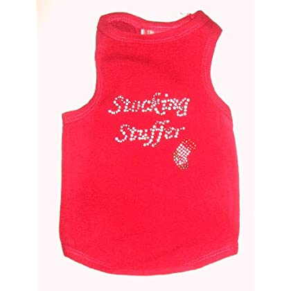 SP The Dog Squad Stocking Stuffer Tank Christmas T-Shirt for Dogs, X-Large, Red at Sears.com