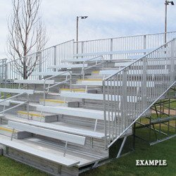 Unassigned K72481 First Class Bleacher 4x19 Benches-Bleachers by Unassigned