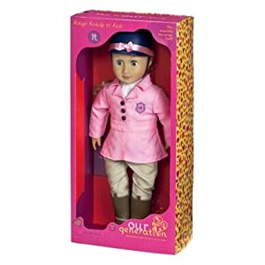 """Our Generation Non-Poseable Doll - Robyn (18"""")"""