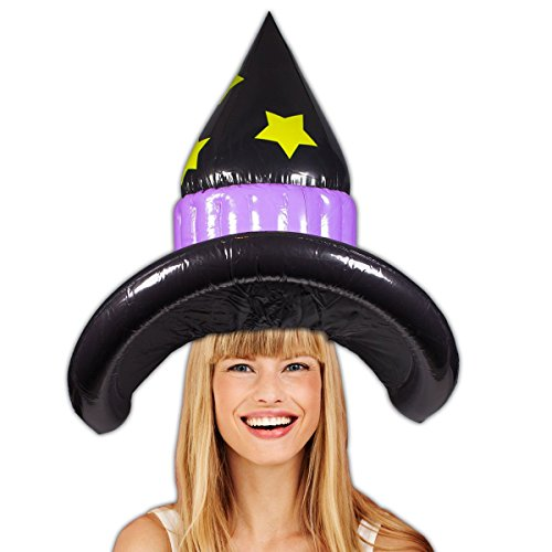 [Witch Inflatable Hat 18