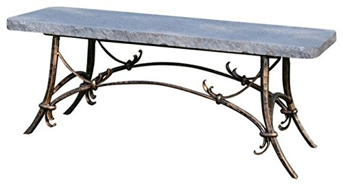 Stone Age Creations BE-TU-CHR Tuscany Granite Bench Charcoal