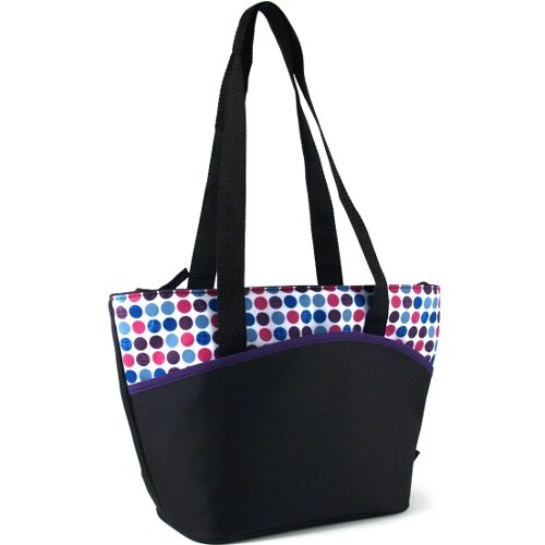 Thermos Raya Disco Dots Insulated 9 Can Lunch Tote - 1