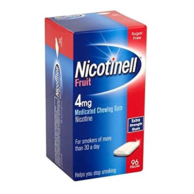 Nicotinell Chewing Gum 4mg Fruit - 96 Pieces by Nicotinell