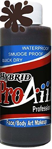 proaiir-waterproof-hybrid-face-and-body-art-paint-brown-21oz-60ml-bottle